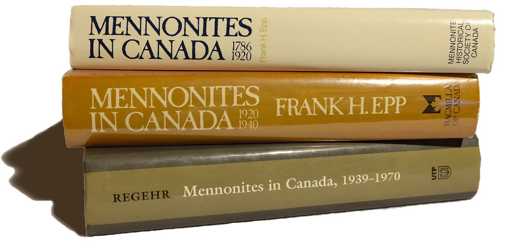 Mennonites in Canada – A History in 3 Volumes